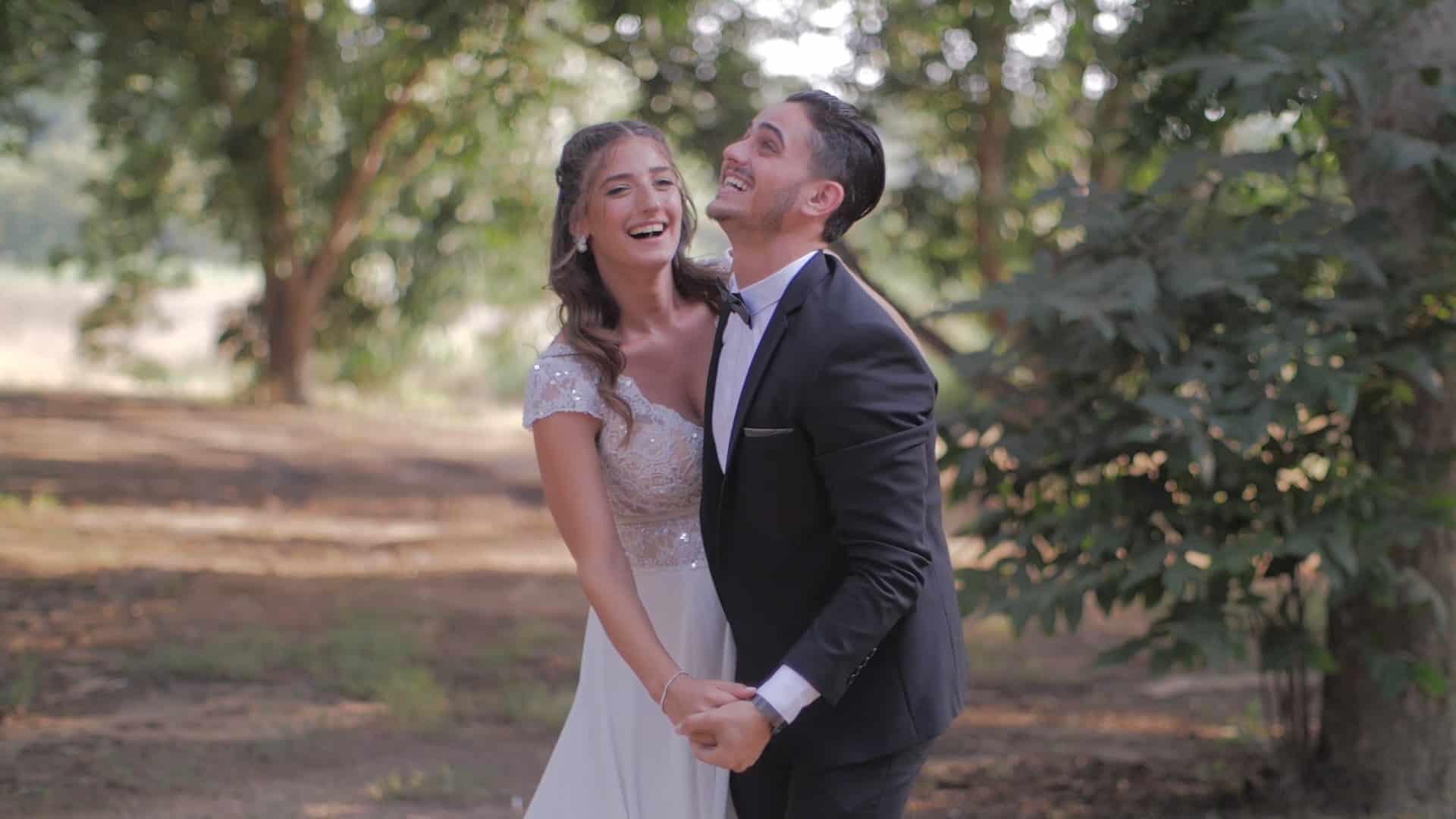 צלם וידאו לחתונה בשרון