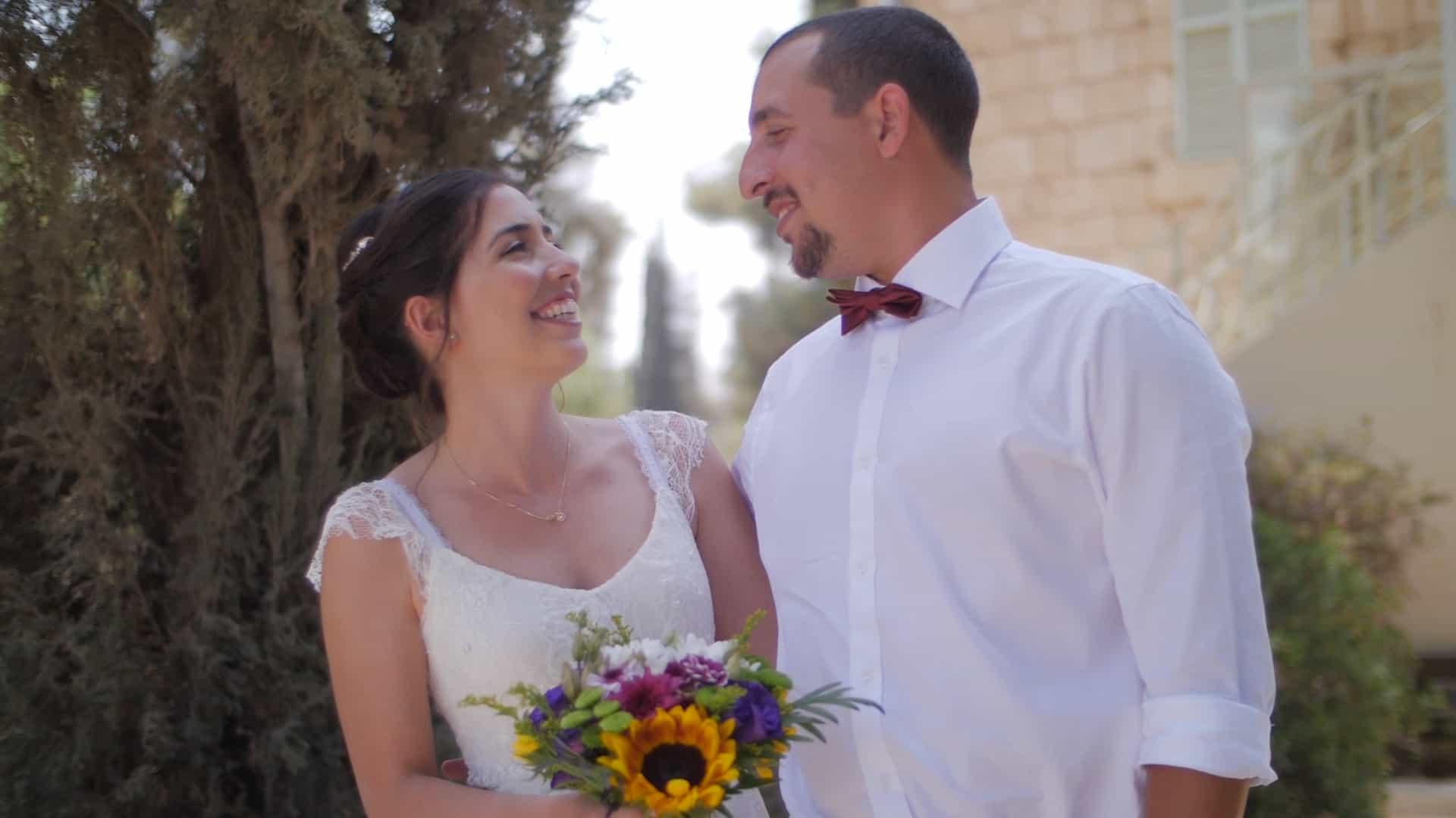 צלם וידאו מקצועי לחתונת שישי